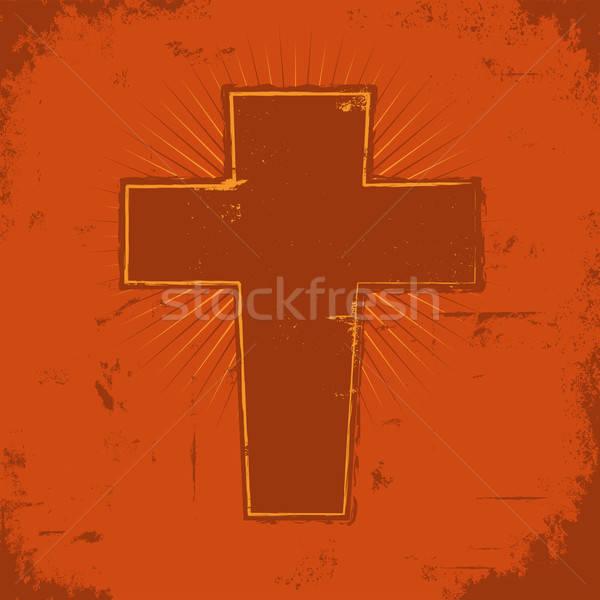 Christian Cross Stock photo © benchart