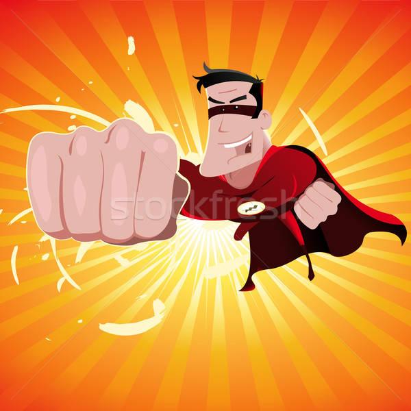 Super Hero - Male Stock photo © benchart