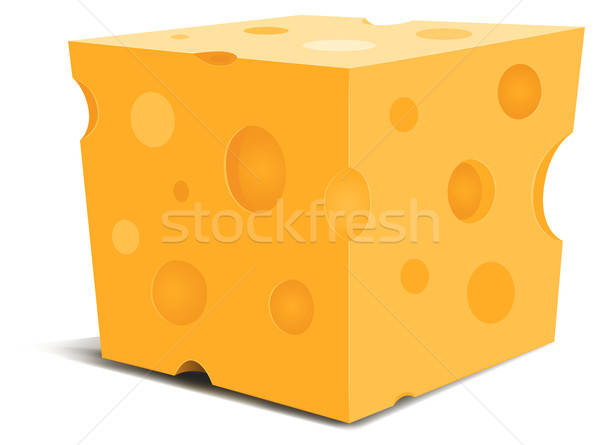 Piece Of Cheese Stock photo © benchart