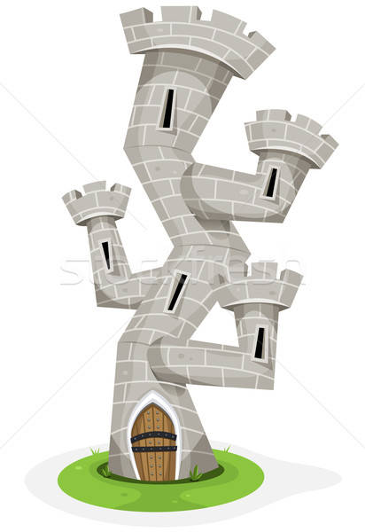 Stock photo: Fantasy Castle Tower