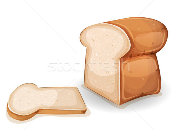Bread Or Brioche With Slice Stock photo © benchart