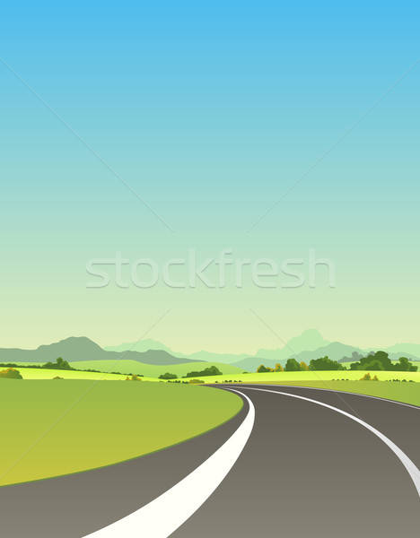 On The Road To Summer Stock photo © benchart