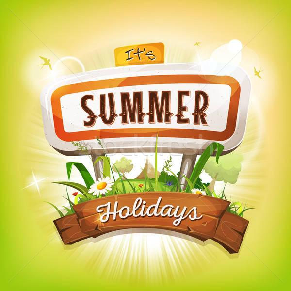 Summer Time Background Stock photo © benchart