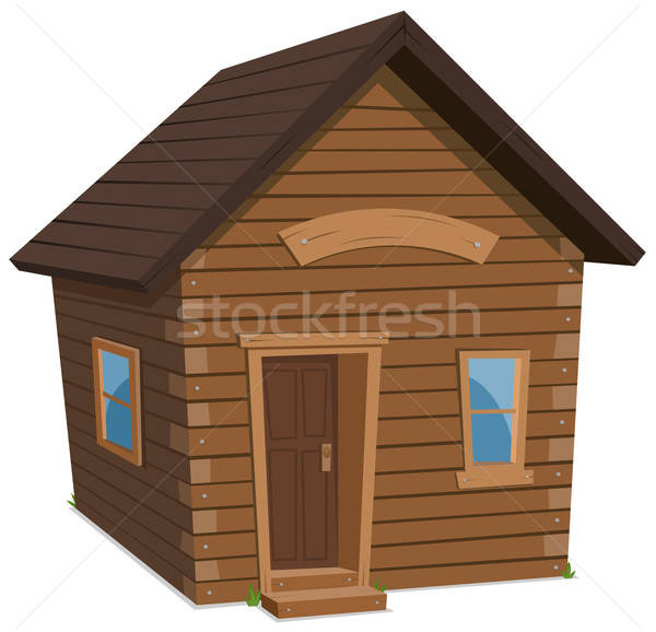 Wood House Lifestyle Stock photo © benchart