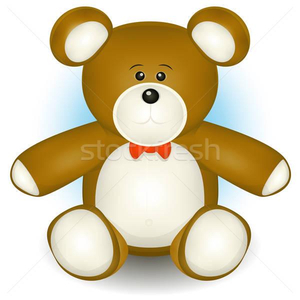 Cute Teddy Bear Stock photo © benchart
