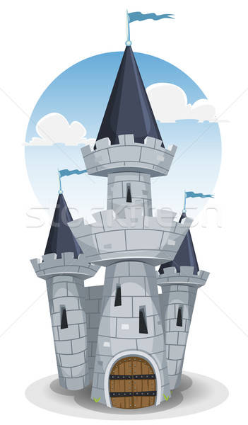 Stock photo: Castle Tower