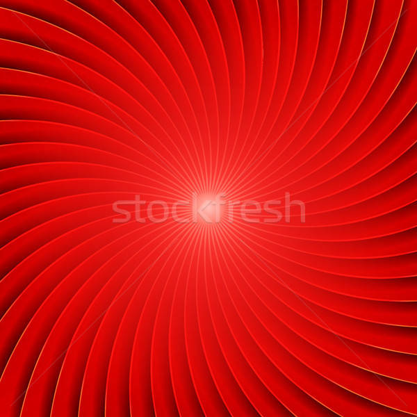 Abstract Red Spiral Background Stock photo © benchart