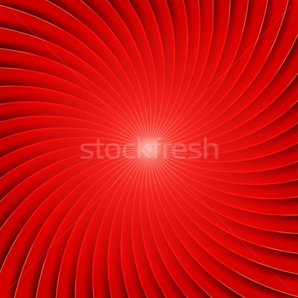 Soyut kırmızı spiral örnek dizayn desen Stok fotoğraf © benchart