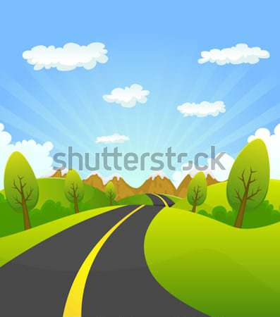 Mountain Road Stock photo © benchart