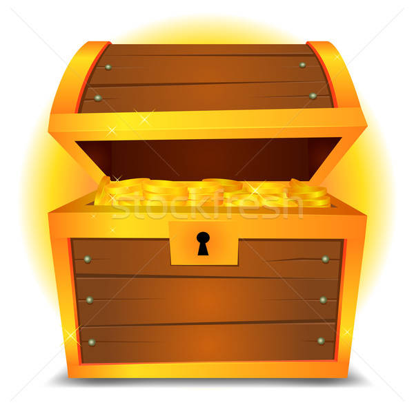 Treasure Chest Stock photo © benchart