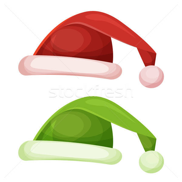 Santa Claus Hat Stock photo © benchart