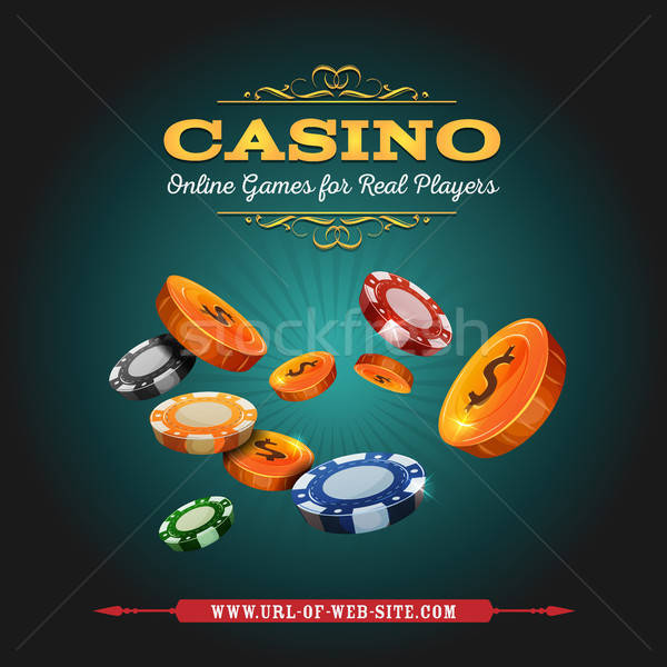 Casino And Gambling Background Stock photo © benchart