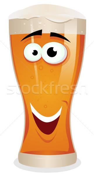 Cartoon Lager Beer Character Stock photo © benchart