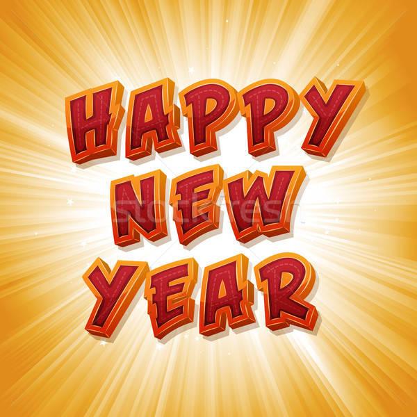 Happy New Year's Eve Stock photo © benchart