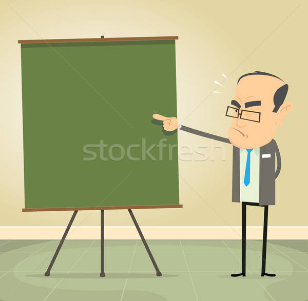 Teaching The Rules Stock photo © benchart