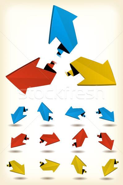 Motion Arrows Set Stock photo © benchart