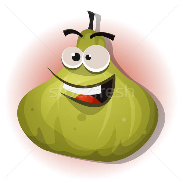 Comic Funny Fig Character Stock photo © benchart