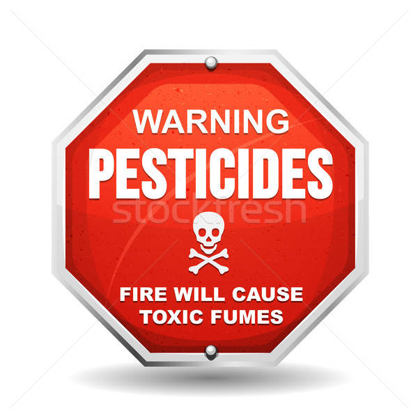 Warning Pesticide Danger Stock photo © benchart