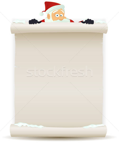 Santa Claus Background Stock photo © benchart