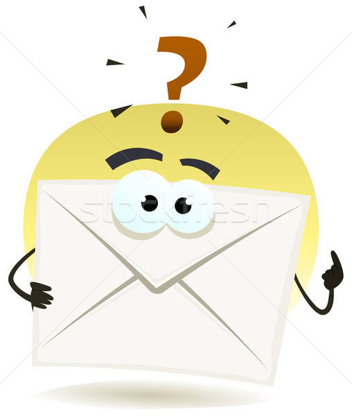 Question By Email Icon Stock photo © benchart