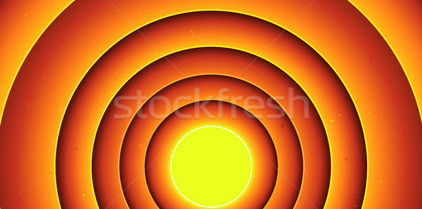 Abstract Cartoon Circles Background Stock photo © benchart