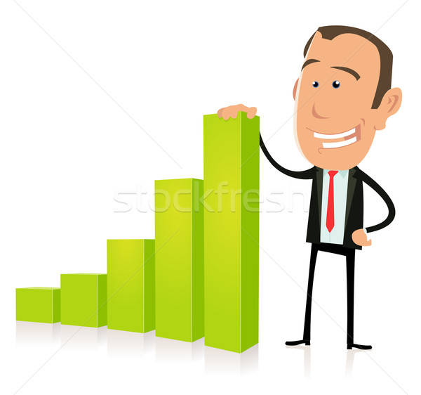 Subprime Bar Graph result Stock photo © benchart