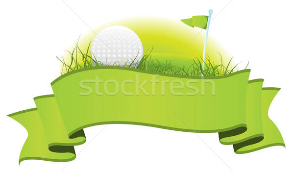 Golf Banner Stock photo © benchart