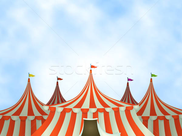 Circus Tents Background Stock photo © benchart