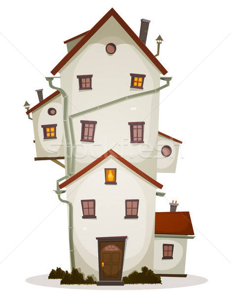 Funny Big House Stock photo © benchart