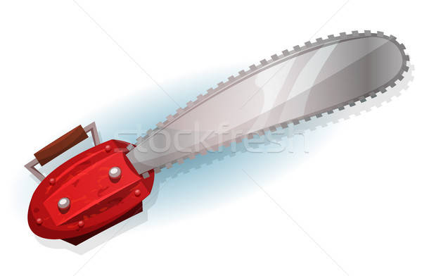 Lumber Chainsaw Stock photo © benchart
