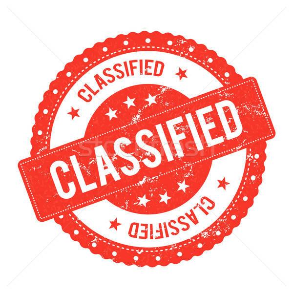 File sigillo certificato illustrazione grunge Foto d'archivio © benchart