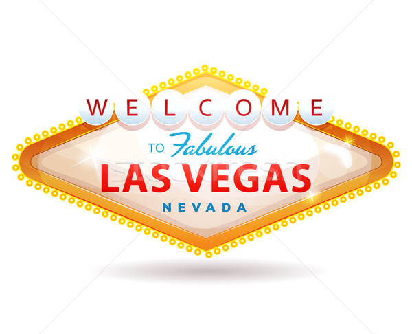 Welcome To Fabulous Las Vegas Sign Stock photo © benchart
