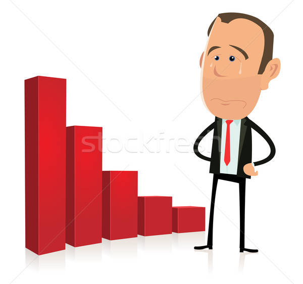 Bar Graph Results - Depression Stock photo © benchart
