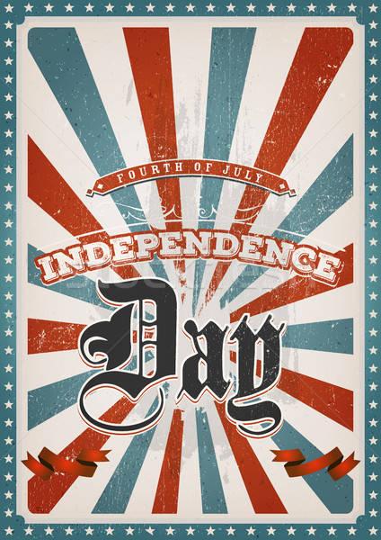Vintage American Background Stock photo © benchart