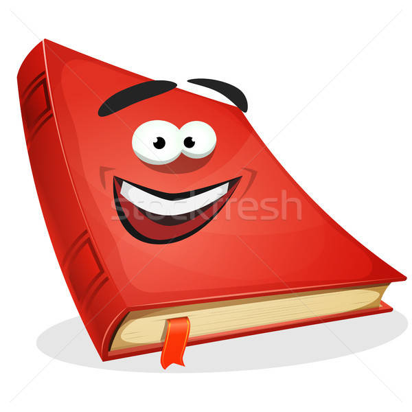 Red Book Character Stock photo © benchart