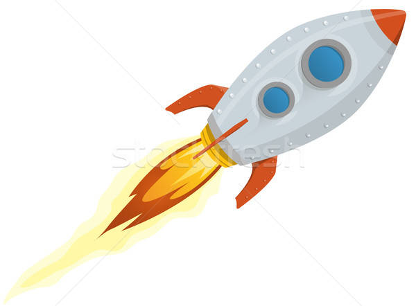 Rocket Ship Stock photo © benchart
