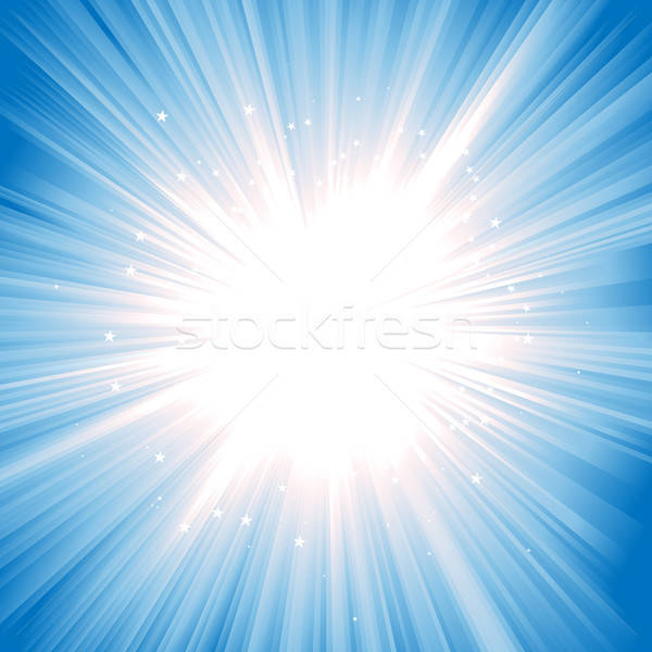 Magic Starburst Stock photo © benchart