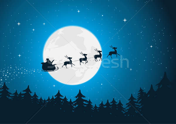Stock photo: Santa's Sleigh