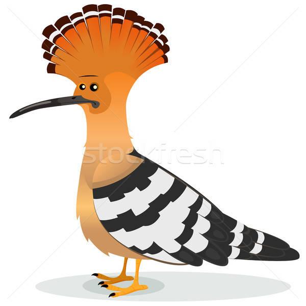 鳥 実例 漫画 面白い エレガントな 男性 ストックフォト © benchart