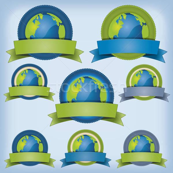 Earth And Environment Banner Stock photo © benchart