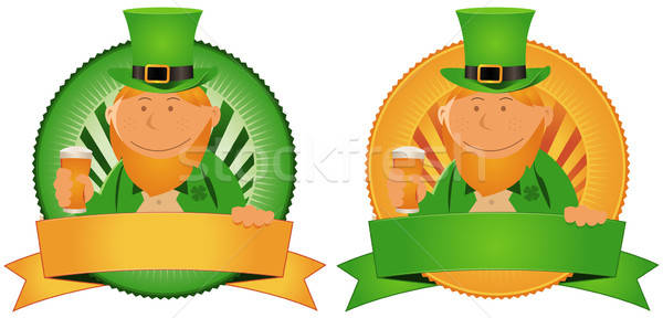 Stock photo: St. Patrick's Day Banner