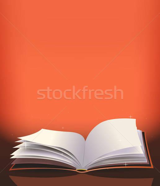 Magic Book Background Stock photo © benchart
