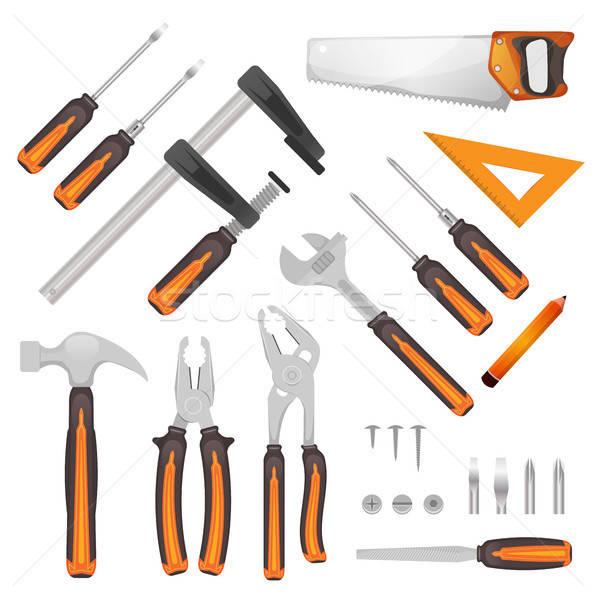 DIY Tools Set Stock photo © benchart