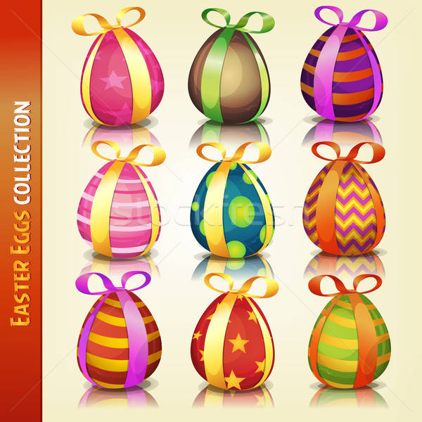 Easter Eggs Collection Stock photo © benchart