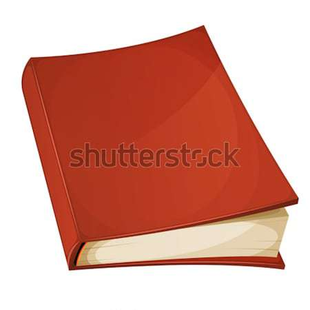 Red Book Isolated Stock photo © benchart