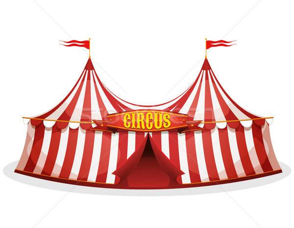 Big Top Circus Tent Stock photo © benchart