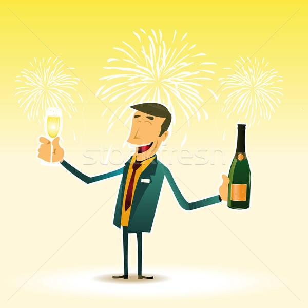 Happy New Year Stock photo © benchart
