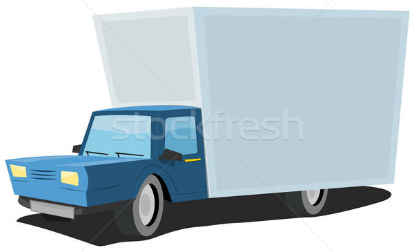 Cartoon Truck Stock photo © benchart