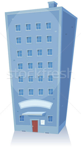 Cartoon Building Stock photo © benchart