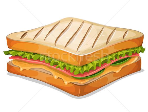 French Sandwich Icon Stock photo © benchart